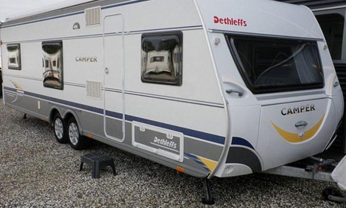 Dethleffs Camper 740 TK (7-8 sovepladser)
