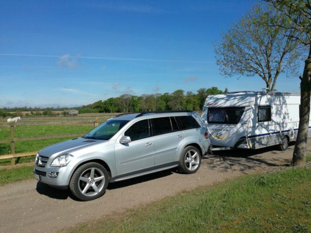 Igen i år, havde Lind Campingudlejning fornøjelsen af at levere vogne til deltagerne i DM i Ridebanespringningning hos Absolute Horses i sommersted.
